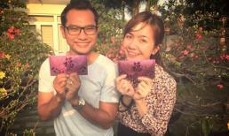 Vợ Huỳnh Đông lộ diện tươi rói sau tai nạn ô tô
