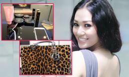 'Khám' túi xách 8.000 USD của Khánh My đầu năm
