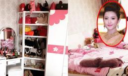 Á hậu Huyền My khoe tủ đồ và phòng ngủ xinh xắn