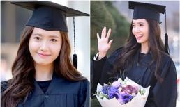 Yoona (SNSD) rạng rỡ ngày tốt nghiệp
