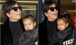 Con gái Kim Kardashian gây ác cảm với khuôn mặt cau có