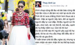 Vợ Đăng Khôi 'phản pháo' khi bị chê về gout thời trang