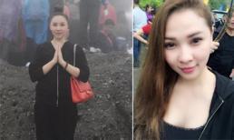 Siêu mẫu Quỳnh Thư xinh tươi đi lễ chùa