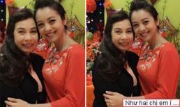 Jennifer Phạm khoe ảnh mẹ trẻ đẹp như hai chị em
