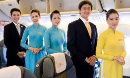 Cận cảnh đồng phục Vietnam Airlines trên chuyến bay thử nghiệm