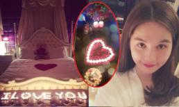 Ngọc Trinh tổ chức tiệc lãng mạn cho người yêu?