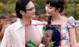 Nguyễn Nhất Huy khoe ảnh hôn bụng bầu Lê Kiều Như 'gây sốt'