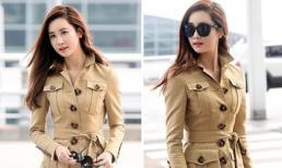 Lee Da Hae rạng ngời, quyến rũ ở sân bay
