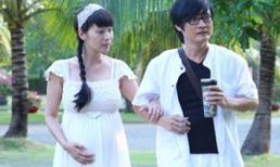 Lê Kiều Như 'bế' bụng bầu 6 tháng đi chơi cùng chồng
