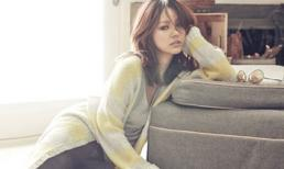 Lee Hyori nữ tính trên tạp chí Marie Claire