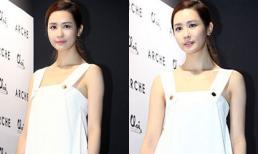 Lee Da Hae xinh như búp bê với váy trắng trong sự kiện