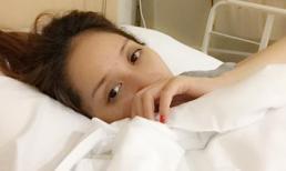 Khánh Thi tiếp tục nhập viện cấp cứu giữa 'tâm bão' chuyện tình cảm