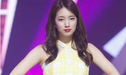 'Nữ thần' Suzy gợi cảm hết mức trên sân khấu