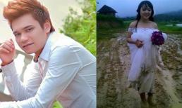 Khắc Việt gây tranh cãi khi đăng tải bức ảnh cô dâu lấm bùn
