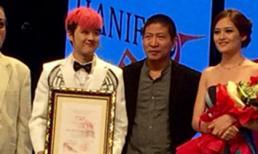 Thanh Duy đoạt giải Nam diễn viên xuất sắc tại Mỹ
