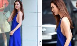 Lee Da Hae lộ thân hình thẳng đuột