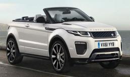 Rò rỉ phiên bản mui trần của xe Land Rover