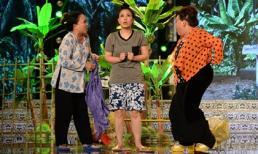 Danh hài đất Việt: Kiều Oanh bị 'ma nhập' lột đồ trên sân khấu