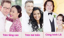 Những địa điểm vàng được sao Việt chọn tổ chức đám cưới
