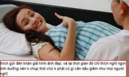 Vy Oanh tiết lộ nguyên nhân 'giấu nhẹm' hình ảnh khi mang bầu