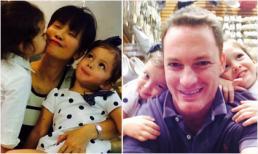 Gia đình Hồng Nhung hạnh phúc đi mua sắm cuối tuần