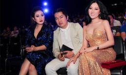 Hoa hậu Huỳnh Thúy Anh và Bầu Hòa gây cuốn hút  tại sự kiện