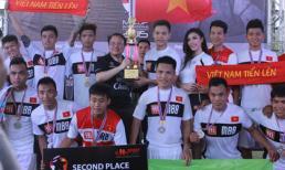 DK Team của Duy Khoa đoạt Á quân ngay trên đất Thái