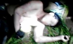 Thanh niên trộm chó bị người dân lột áo, trói, đánh nhừ tử