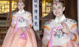 'Dâu cả' nhà Beck đẹp lạ với trang phục Hanbok