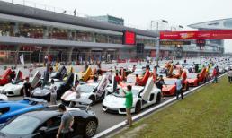 Choáng ngợp dàn siêu xe của hội 'dân chơi' ở Trung Quốc