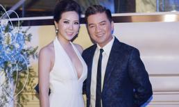 Hoa hậu Thu Hoài diện đầm hở ngực gợi cảm bên Mr. Đàm