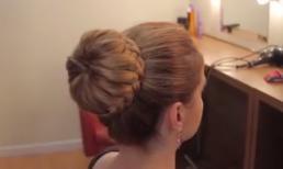 Cách tạo kiểu tóc búi tết đẹp và đơn giản