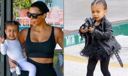 Tủ đồ hiệu xa hoa của con gái Kim Kardashian