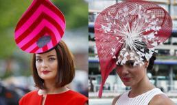 Ấn tượng với những chiếc mũ độc đáo của phụ nữ hoàng gia Anh