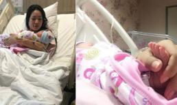 Á hậu Trịnh Kim Chi đã sinh con gái thứ hai ở tuổi 43