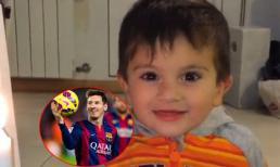 Con trai chúc mừng sinh nhật lần thứ 28 của Messi