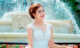 Ninh Hoàng Ngân 'làm cô dâu' xinh lung linh