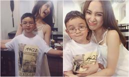 Angela Phương Trinh lần đầu khoe em trai út như hotboy nhí