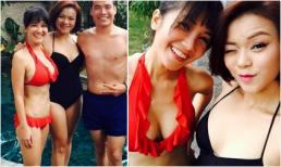 Hồng Nhung diện bikini khoe body nóng bỏng ở tuổi 45