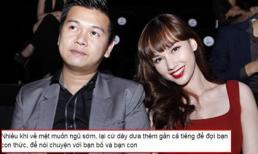Nghi án MC Quỳnh Chi làm lành với chồng