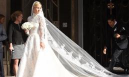 Váy cưới lộng lẫy giá gần 1,7 tỷ đồng của em gái Paris Hilton