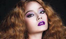 Hoàng Oanh 'đẹp lạ' với mái tóc vàng bồng bềnh