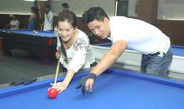 'Bắt gặp' vợ chồng Bình Minh đi chơi Bida lỗ