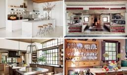 Khám phá căn bếp đẹp như mơ của những người nổi tiếng