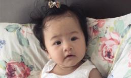 Con gái Phan Thị Lý cực yêu với mái tóc xoăn