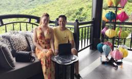 Quỳnh Thư mặn nồng bên tình mới kỷ niệm 5 tháng yêu nhau