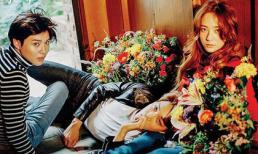 Krystal tình tứ ngọt ngào bên hai mỹ nam trong bộ ảnh mới