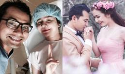 Vợ Huỳnh Đông nhập viện chuẩn bị sinh con trai đầu lòng