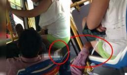 Mặc quần ngắn, cô gái bị gã bệnh hoạn sàm sỡ trên xe buýt