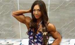 Cô gái xinh đẹp có thân hình cơ bắp khiến nhiều chàng 'lép vế'